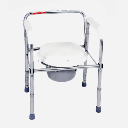 The Folding Commode